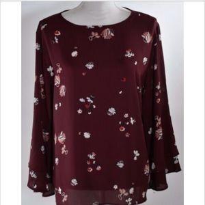Ann Taylor Loft women's top shirt blouse large